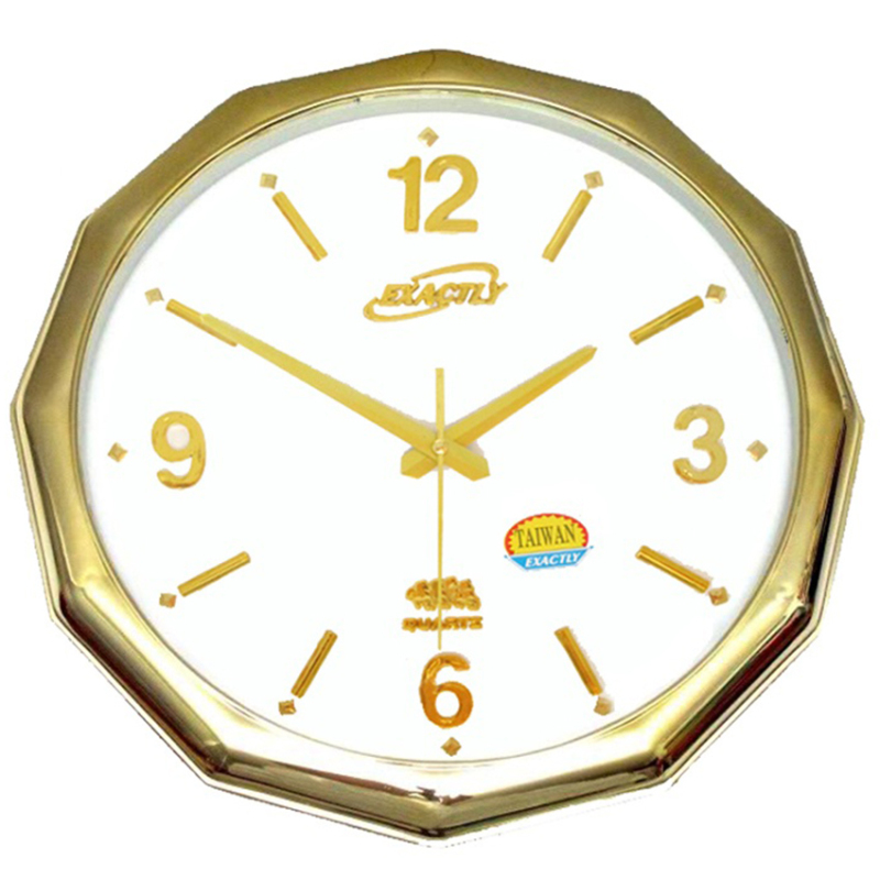 Nơi bán Đồng hồ treo tường EXACTLY U270 (Xi mạ vàng)