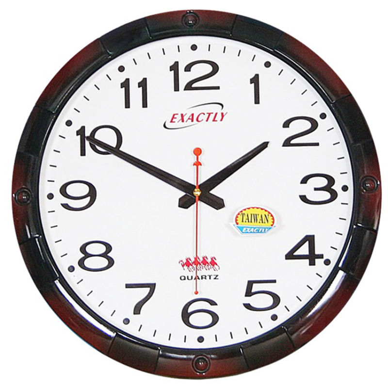 Nơi bán Đồng hồ treo tường EXACTLY U390 (Trắng)