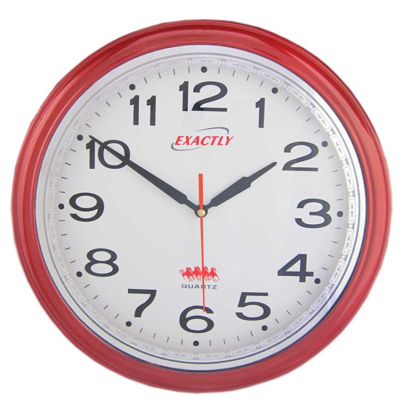 Nơi bán Đồng hồ treo tường EXACTLY U80 (Đỏ)