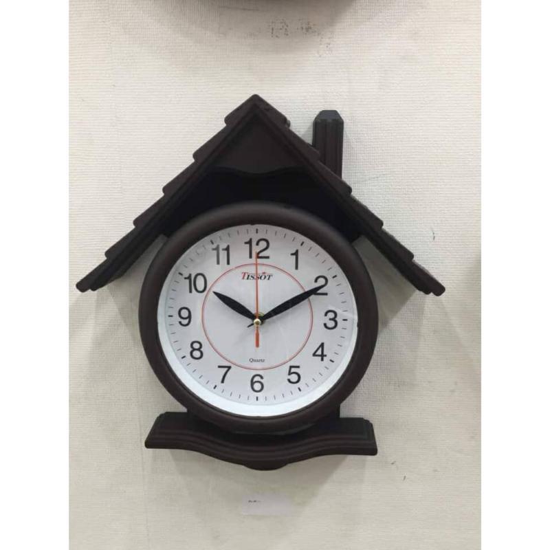 Nơi bán Đồng hồ treo tường hình ngôi nhà ống khối Va105 ( đen ) - Thích hợp cho không gian phòng khách nhà bạn