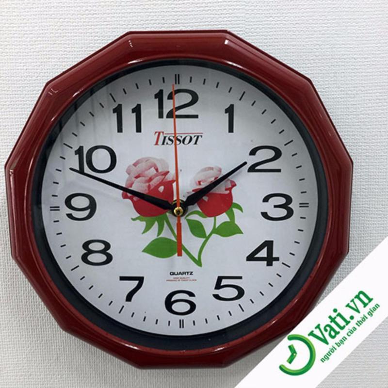 Nơi bán Đồng hồ treo tường hình tròn Vati S2 - Điểm nhấn cho không gian sống của bạn