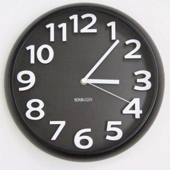 Đồng hồ treo tường kim trôi cao cấp AoyunClock Hanghot365(Xanh lánhạt)