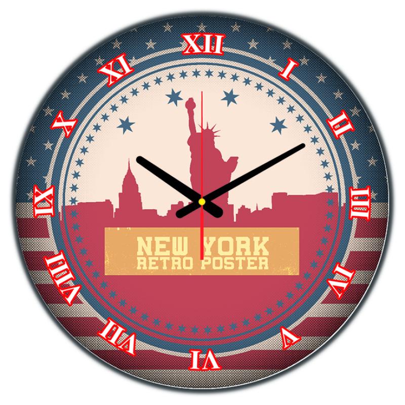 Nơi bán Đồng hồ treo tường New york DHT35-50