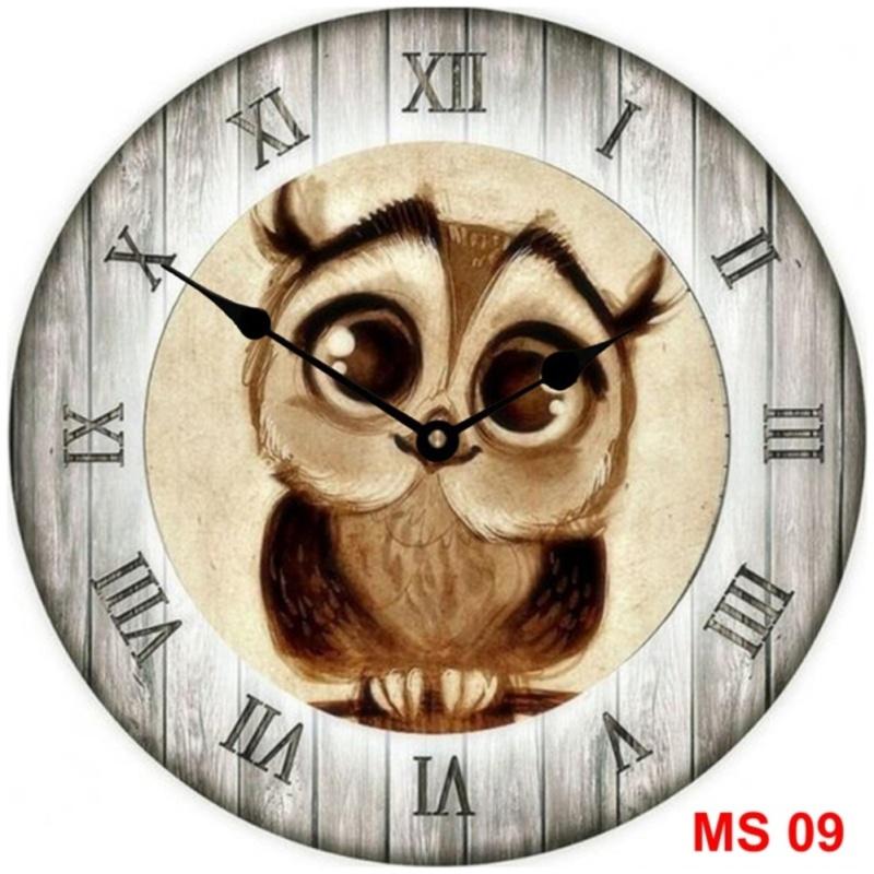 Nơi bán Đồng hồ treo tường phong cách cổ MS 09