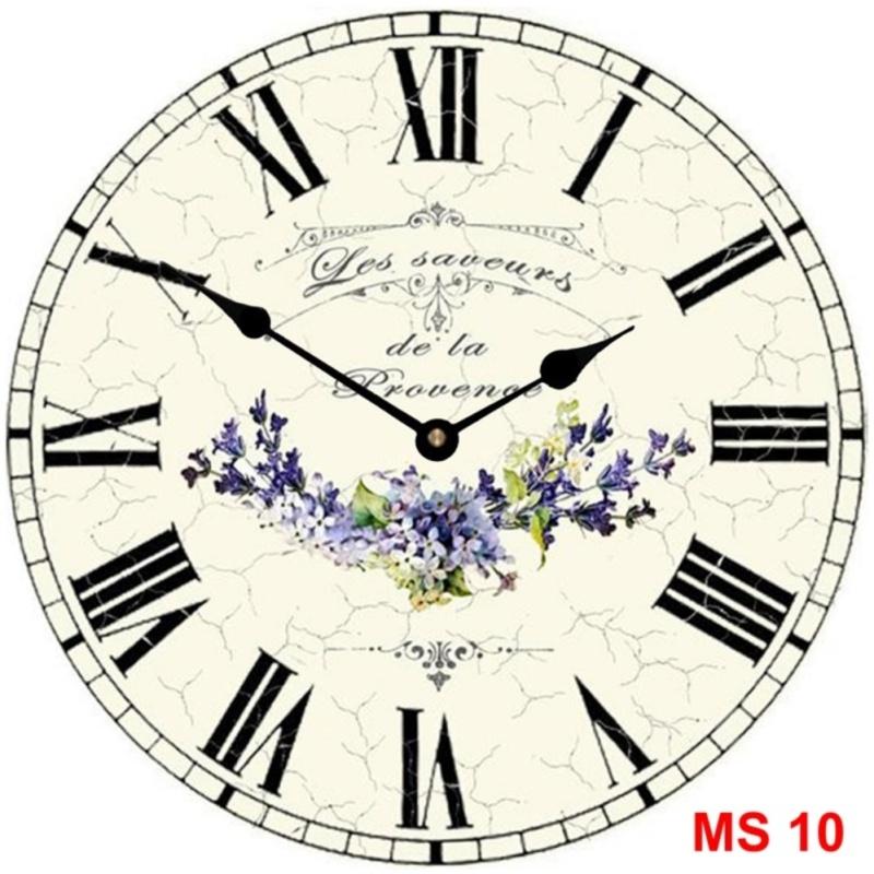 Nơi bán Đồng hồ treo tường phong cách cổ MS 10