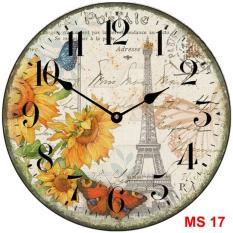 Đồng hồ treo tường phong cách cổ MS 17