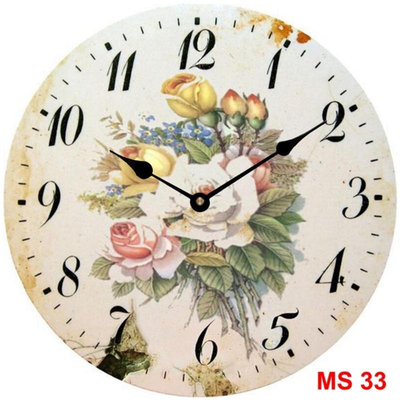 Nơi bán Đồng hồ treo tường phong cách cổ MS 33