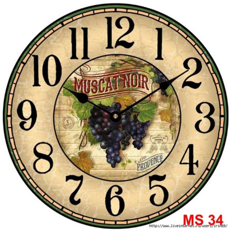 Nơi bán Đồng hồ treo tường phong cách cổ MS 34