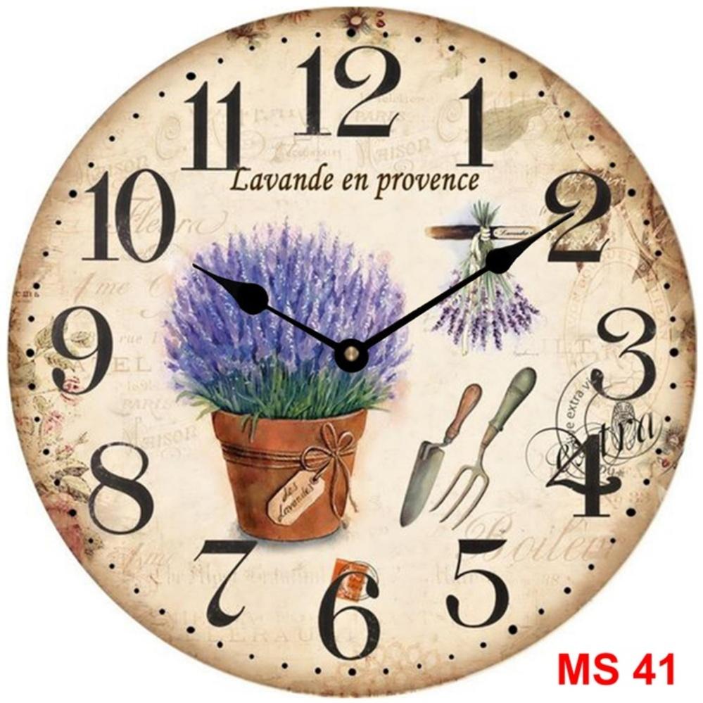 Giá Niêm Yết Đồng hồ treo tường phong cách cổ MS 41