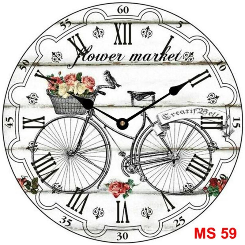 Nơi bán Đồng hồ treo tường phong cách cổ MS 59