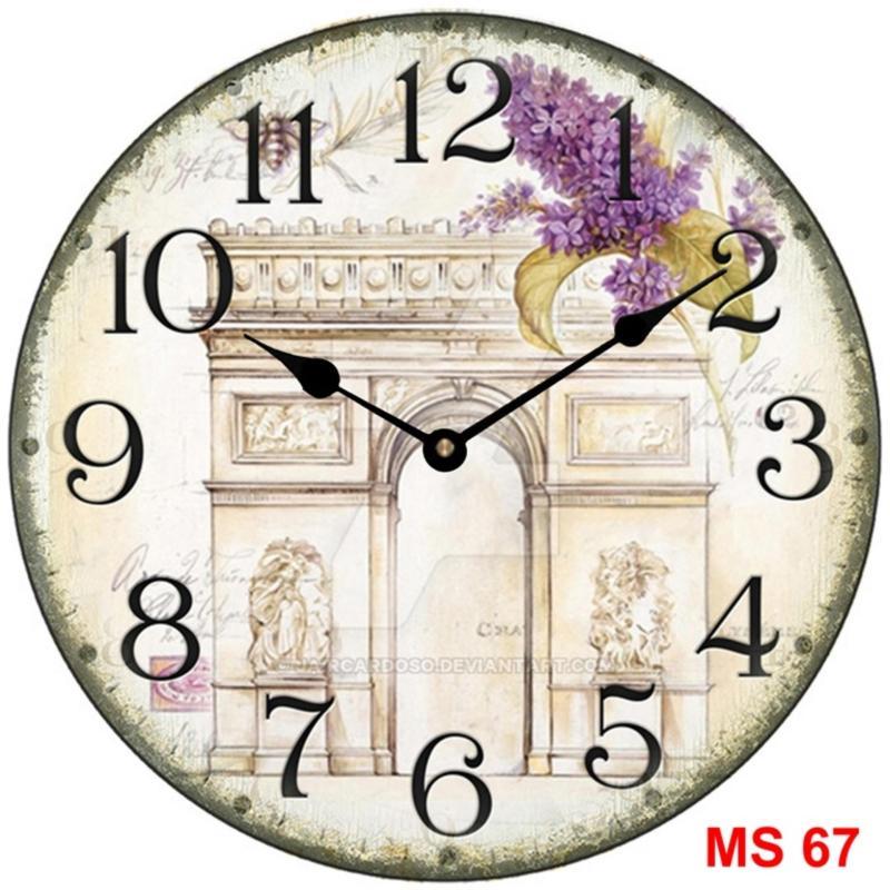 Nơi bán Đồng hồ treo tường phong cách cổ MS 67