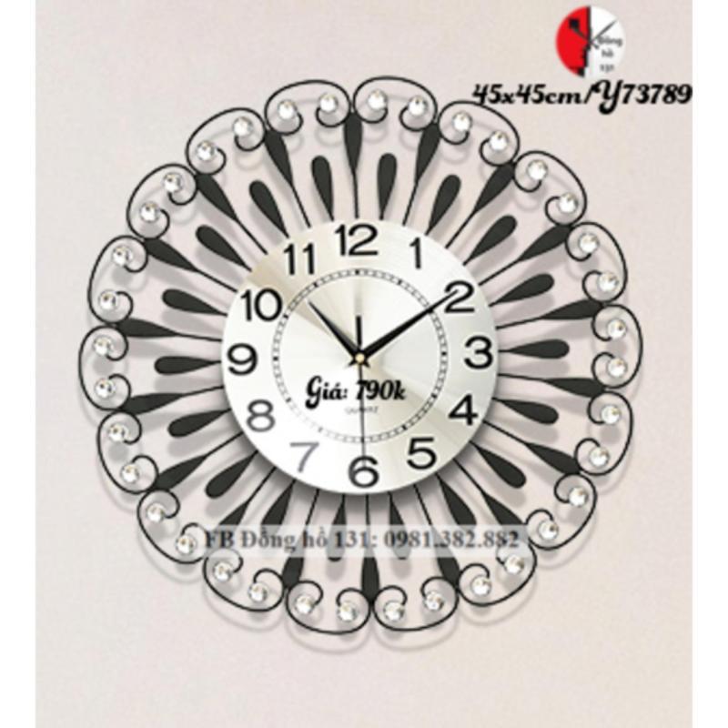 Nơi bán Đồng hồ treo tường tròn họa tiết Y73789