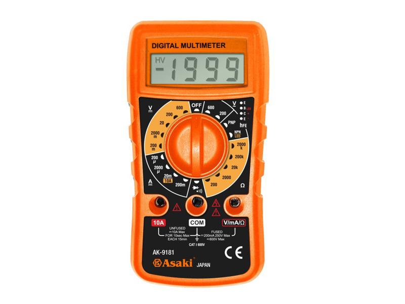Đồng hồ vạn năng Asaki AK-9181