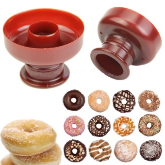 Donut Maker Biscuit Mould Cake Mold Bread Dessert Cutter BakeryBaking Tool - intl