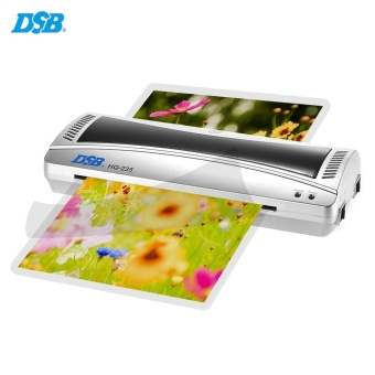 DSB HQ-235 A4 Photo Hot Cold Laminator Quick Warm Up Fast Speed for80-125mic Film Laminating with Jam Release EU Plug - intl