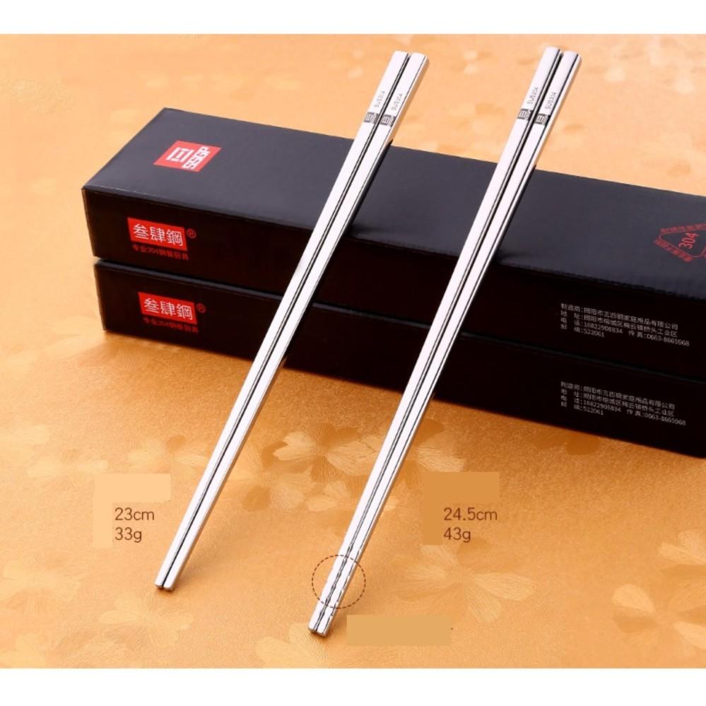 Đũa inox 304 – SSGP – 24.5cm