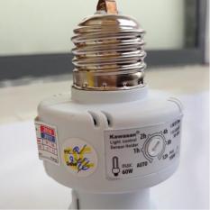 Đui đèn cảm ứng ánh sáng đèn tự bật khi trời tối Kawasan LSE27