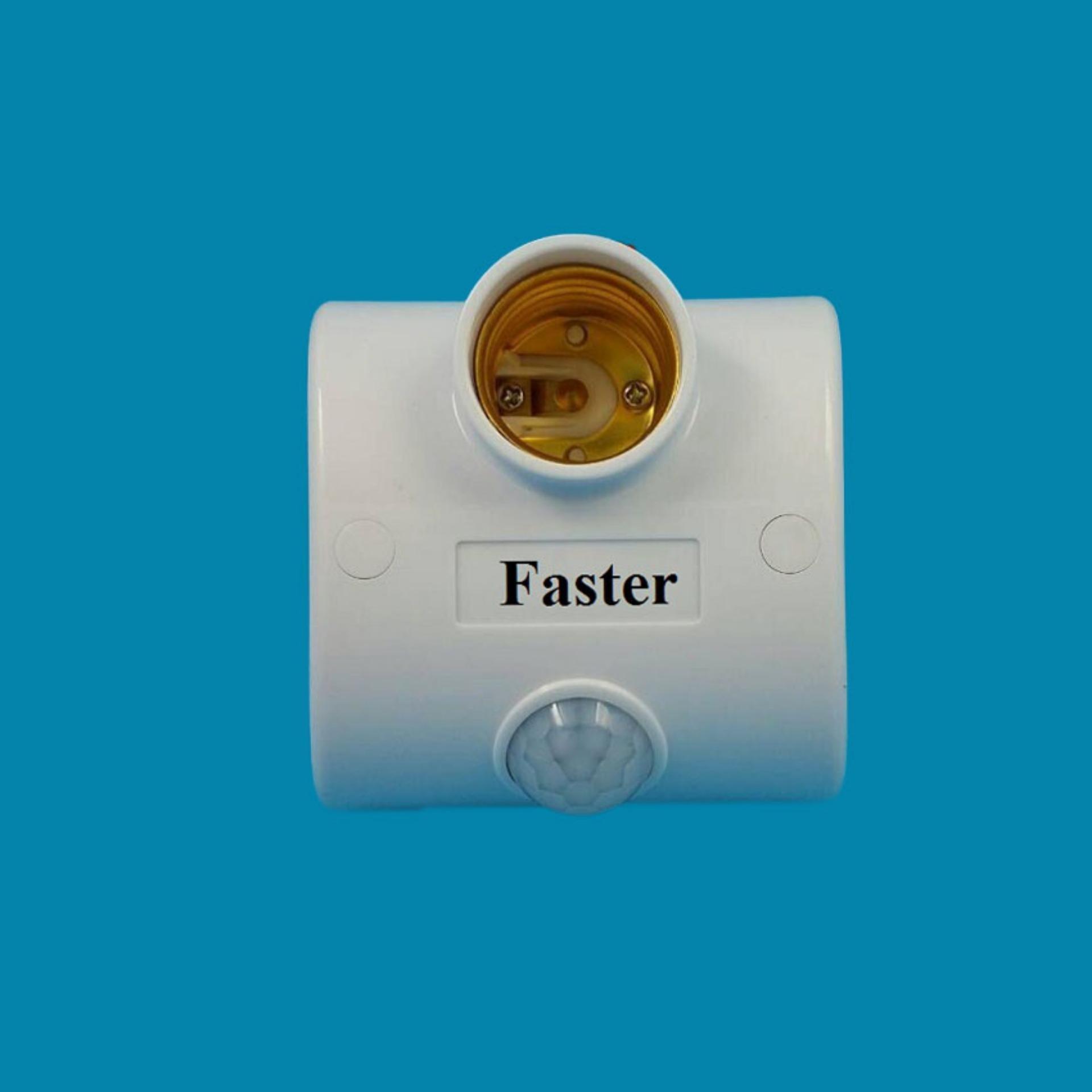 Báo Giá Đui đèn cảm ứng chuyển động cao cấp Faster (Trắng)