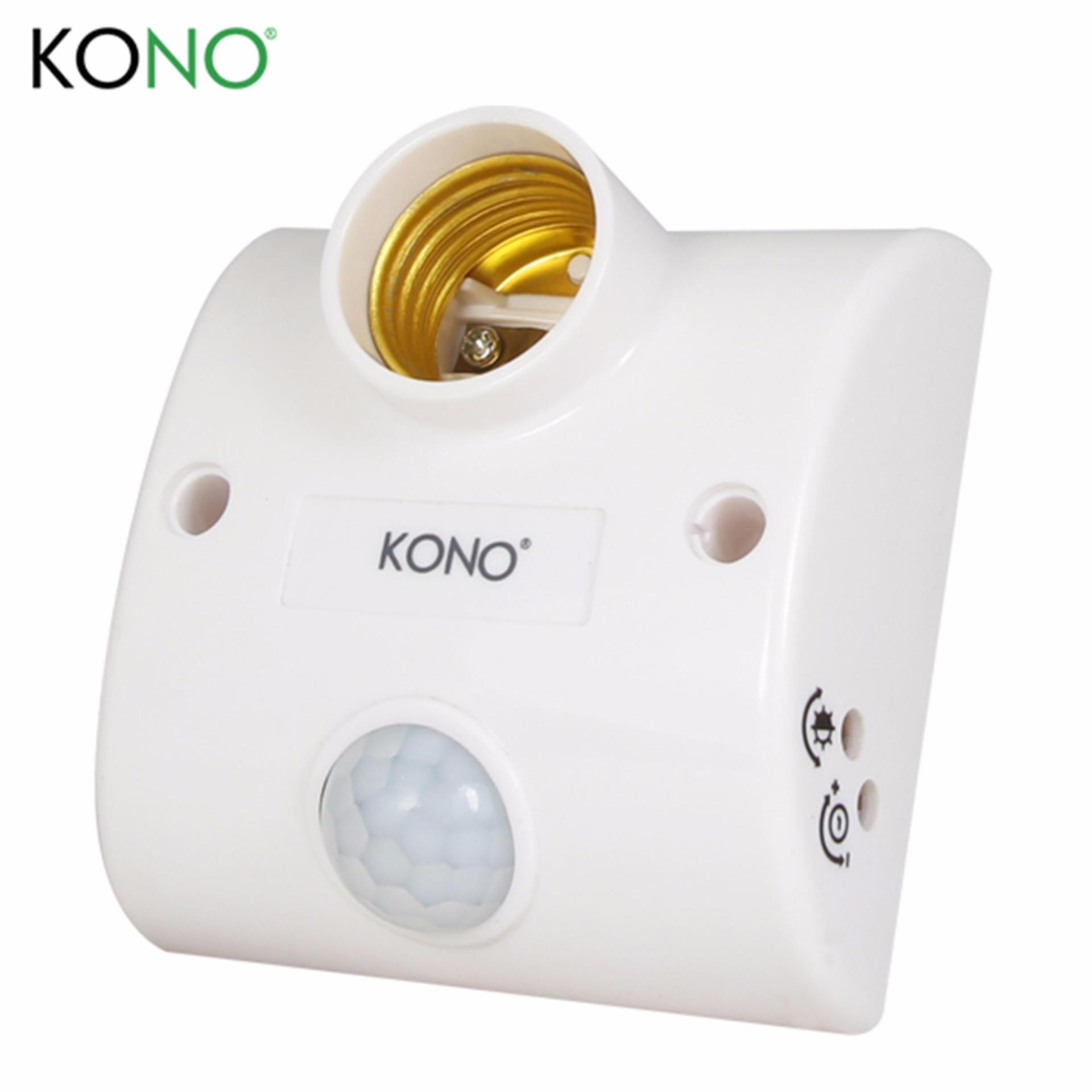 Mẫu sản phẩm Đui đèn cảm ứng hồng ngoại KONO KN-LS8A