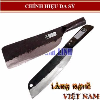 Dụng cụ nhà bếp - Combo 02 Dao Đa Sỹ chuẩn làm bằng THÉP cao cấp -Dao phay (dao chặt xương) + dao bài thái - 8219903 , KH324HLAA661WBVNAMZ-11367911 , 224_KH324HLAA661WBVNAMZ-11367911 , 259920 , Dung-cu-nha-bep-Combo-02-Dao-Da-Sy-chuan-lam-bang-THEP-cao-cap-Dao-phay-dao-chat-xuong-dao-bai-thai-224_KH324HLAA661WBVNAMZ-11367911 , lazada.vn , Dụng cụ nhà bếp -