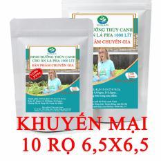 Dung dịch thủy canh ăn lá 1000 lít 1000 PPM