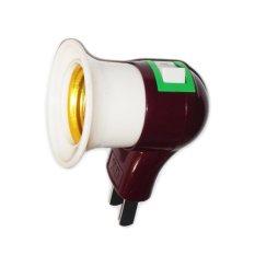 Đuôi bóng đèn có công tắc(kem)