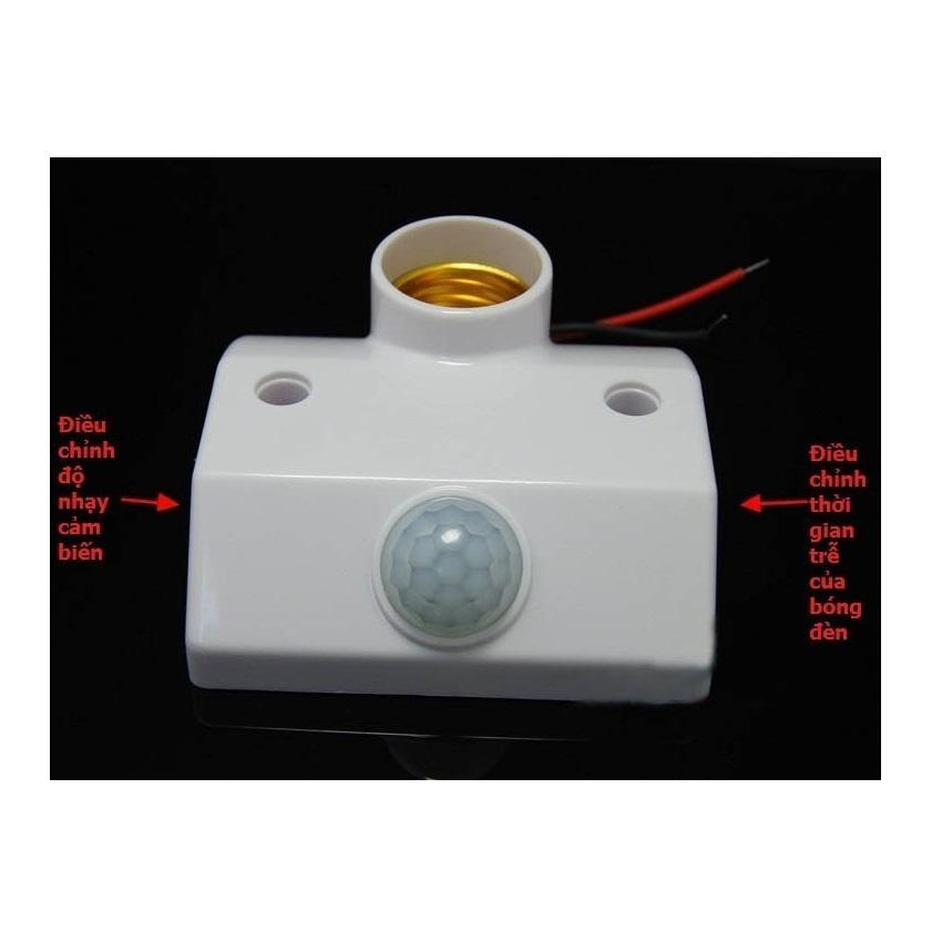 Đuôi đèn cảm biến chuyển động mẫu mới