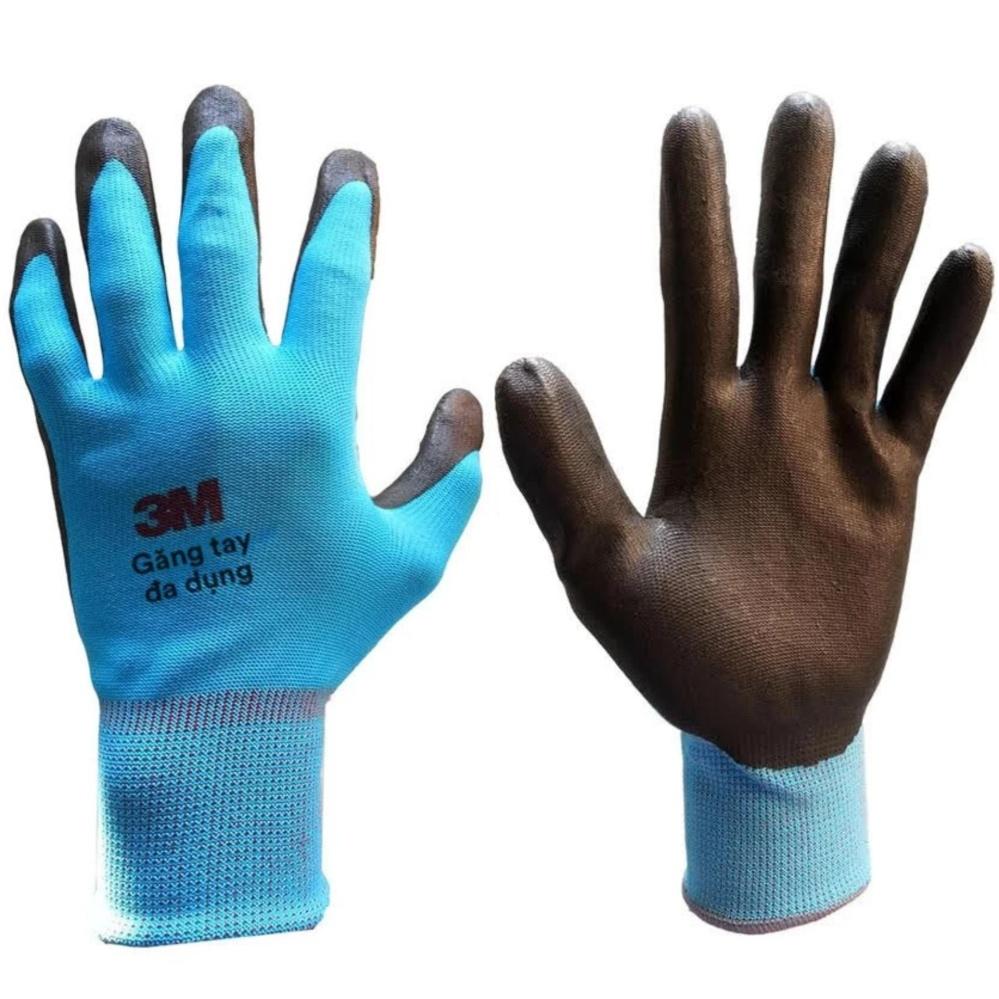 Trang bán Găng tay bảo vệ 3M Comfort Grip Gloves size M (Xanh da trời)