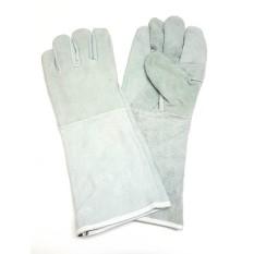 Găng tay da thợ hàn 2 lớp