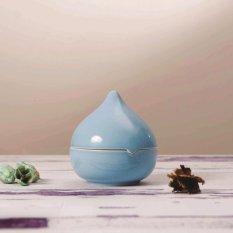 Gạt tàn quả đào xanh ngọc Sứ Sương/SSGT001A1