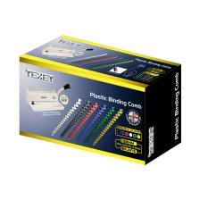 Gáy lò xo nhựa TEXET SP32 phi 32mm (Hộp 100 cái màu Trắng)