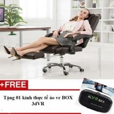 Ghế giám đốc có massage sử dụng nguồn USB an toàn (hàng xuất khẩu châu Âu) – Tặng 01 kính thực tế ảo vr BOX 3dVR