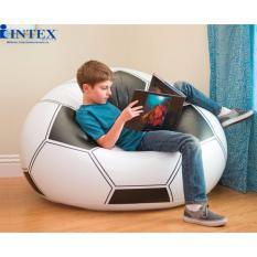 Ghế hơi bóng đá INTEX 68557 KÈM BƠM ĐIỆN