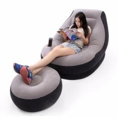 Ghế hơi intex tựa lưng/ghế giường hơi đa năng intex