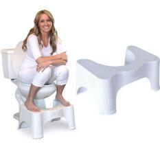 Ghế kê chân toilet chống táo bón Chefman