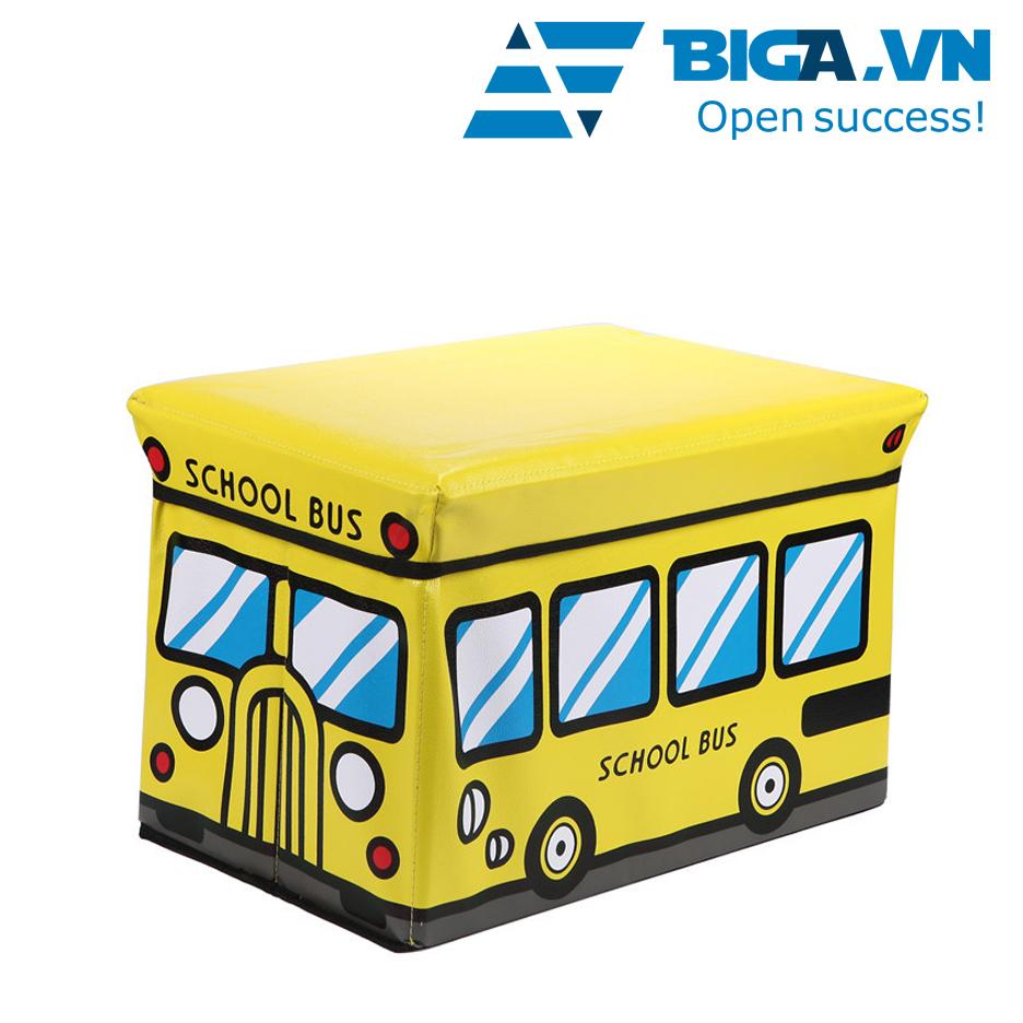 Ghế Kiêm Hộp Đựng Đồ Hình Xe Buýt – US02033