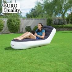 Ghế lười sofa vải nhung bơm hơi Bestway, Lazy flocking inflatable