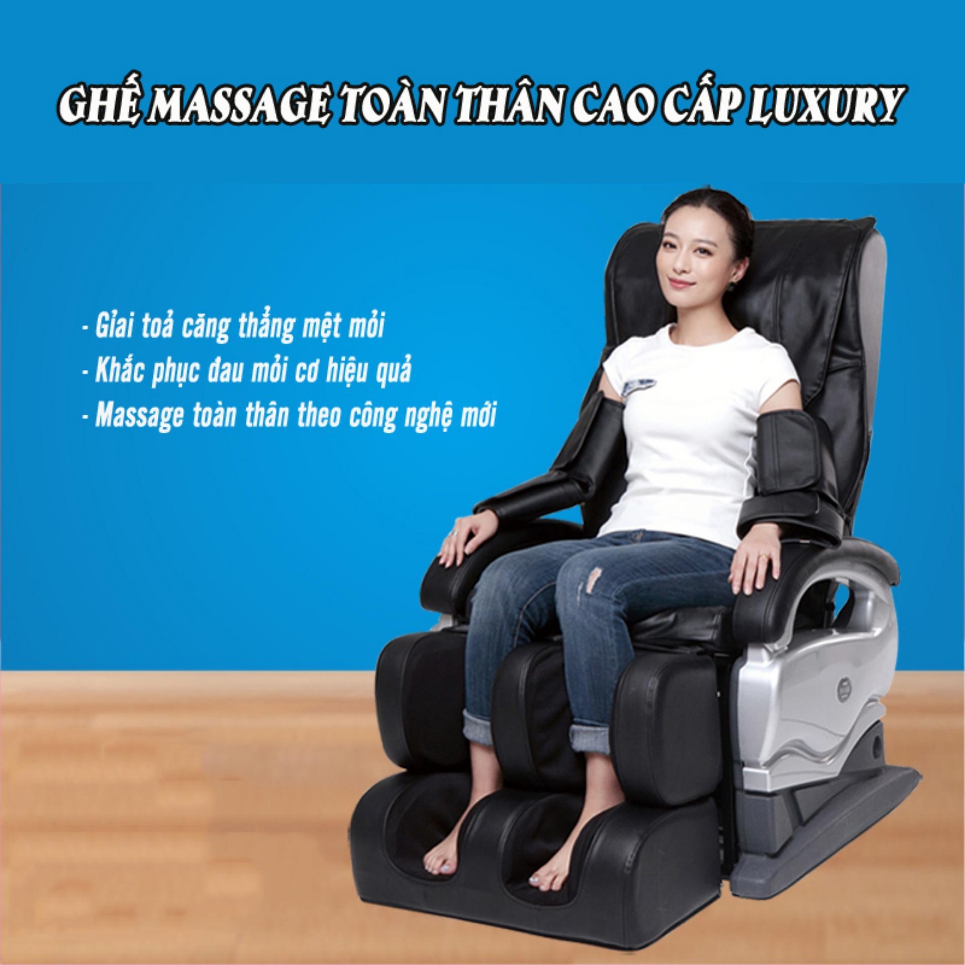Giá Niêm Yết Ghế massage toàn thân cao cấp LUXURY