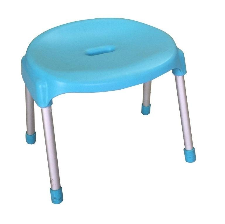 Ghế mặt nguyệt chân inox 8007