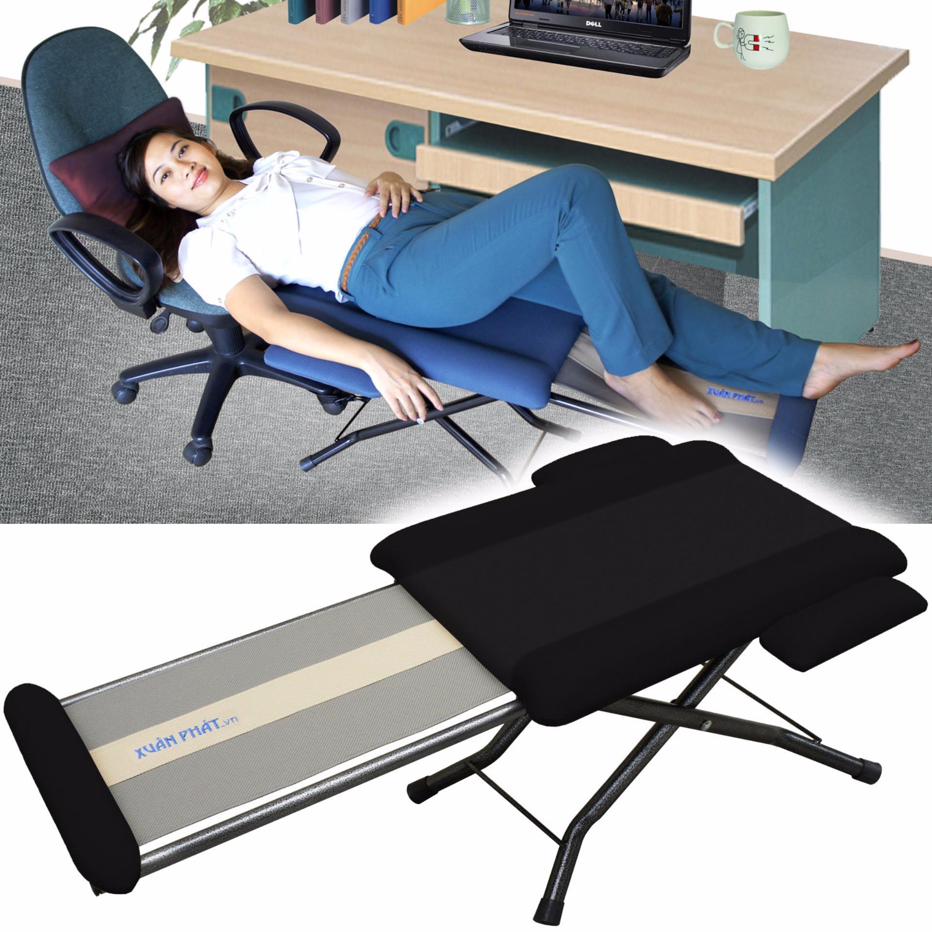 Ghế ngủ văn phòng Xuân Phát GN.01 (Đen)