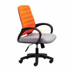 [Freeship] Ghế văn phòng IM101801 bọc vải chân thép mạ có tay IBIE phong cách hiện đại, màu sắc tùy chọn. Gia công tỉ mỉ, chất lượng xuất khẩu. Bảo hành 12 tháng, miễn phí vận chuyển TPHCM