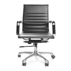 Ghế văn phòng PVC lưng trung chân xoay MC20131-U1- Hàng Nhập Khẩu AZ PRICE