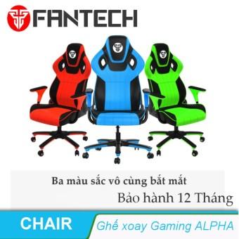 Ghế xoay văn phòng Gaming ALPHA - Fantech - Green