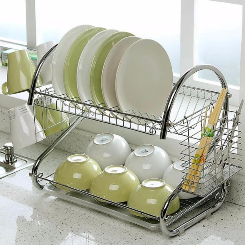 Địa Chỉ Bán Giá để bát đĩa và đồ dùng nhà bếp inox Homestar SVHS2