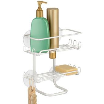 Giá để đồ nhà tắm Classico Suct Interdesign 11000491 (Trắng)