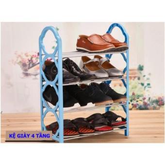 Giá để giày, dép đa năng 4 tầng tiện dụng