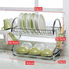 Giá đựng bát đĩa và đồ dùng nhà bếp Inox Homestar GHDHS2