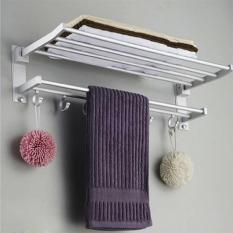 Giá treo khăn mặt nhà tắm tiện ích (White)