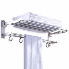 Giá treo khăn tắm 2 tầng
