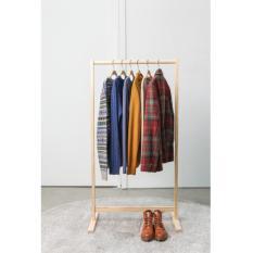 Giá treo quần áo bằng gỗ tự nhiên VNXK Hàn Quốc – 가장자리 – Size L